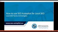 Webinar: Build Your Local Seo with SEO Autopilot