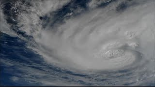 USA: L'Ouragan Harvey vu de l'espace