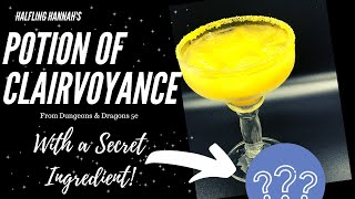 Potion of Clairvoyance 5e Cocktail and Mocktail!