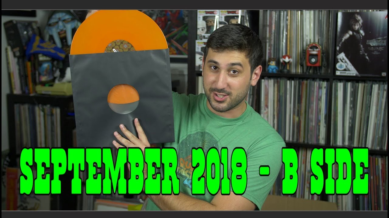 Vinyl Haul/Record Reviews: September B-Side 2018