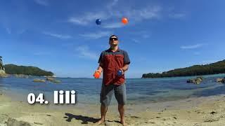 04  IiIi | Жонглирование 4 мячами | [РУКИ ТРЮКИ] | JUGGLING LESSON