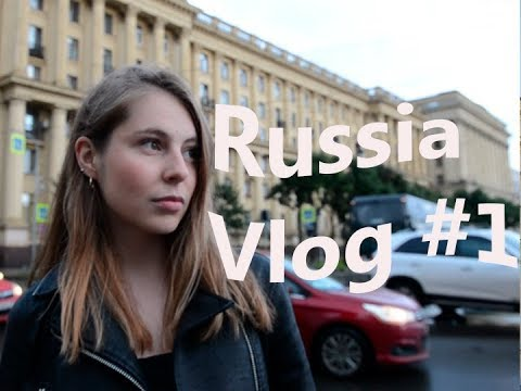 RUSSIA, Saint-Petersburg || Vlog #1. BEST BUSINESS SCHOOL AND LAMBO!!!!!