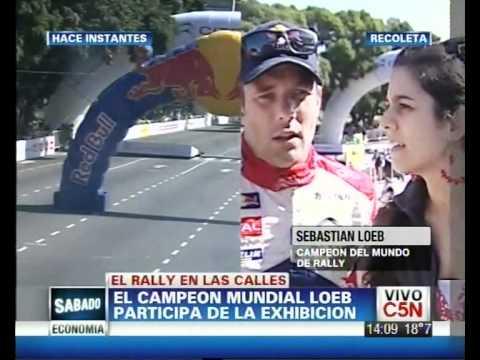 C5N - DEPORTES: SEBASTIAN LOEB EN BUENOS AIRES