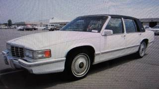 1993 Cadillac Sedan Deville Start Up, Engine, and In Depth Tour