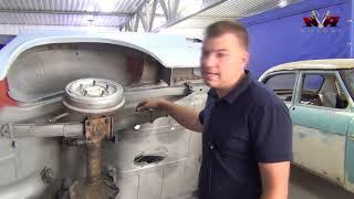 ГАЗ-24 проект из Ингушетии. Кузовные работы.