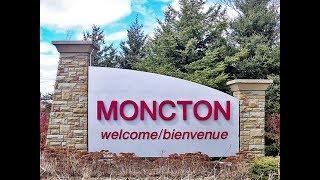 Moncton, New Brunswick: Cruising Downtown on September 4, 2017