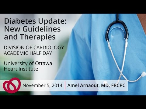 Diabetes Update Presentation - Amel Arnaout, MD