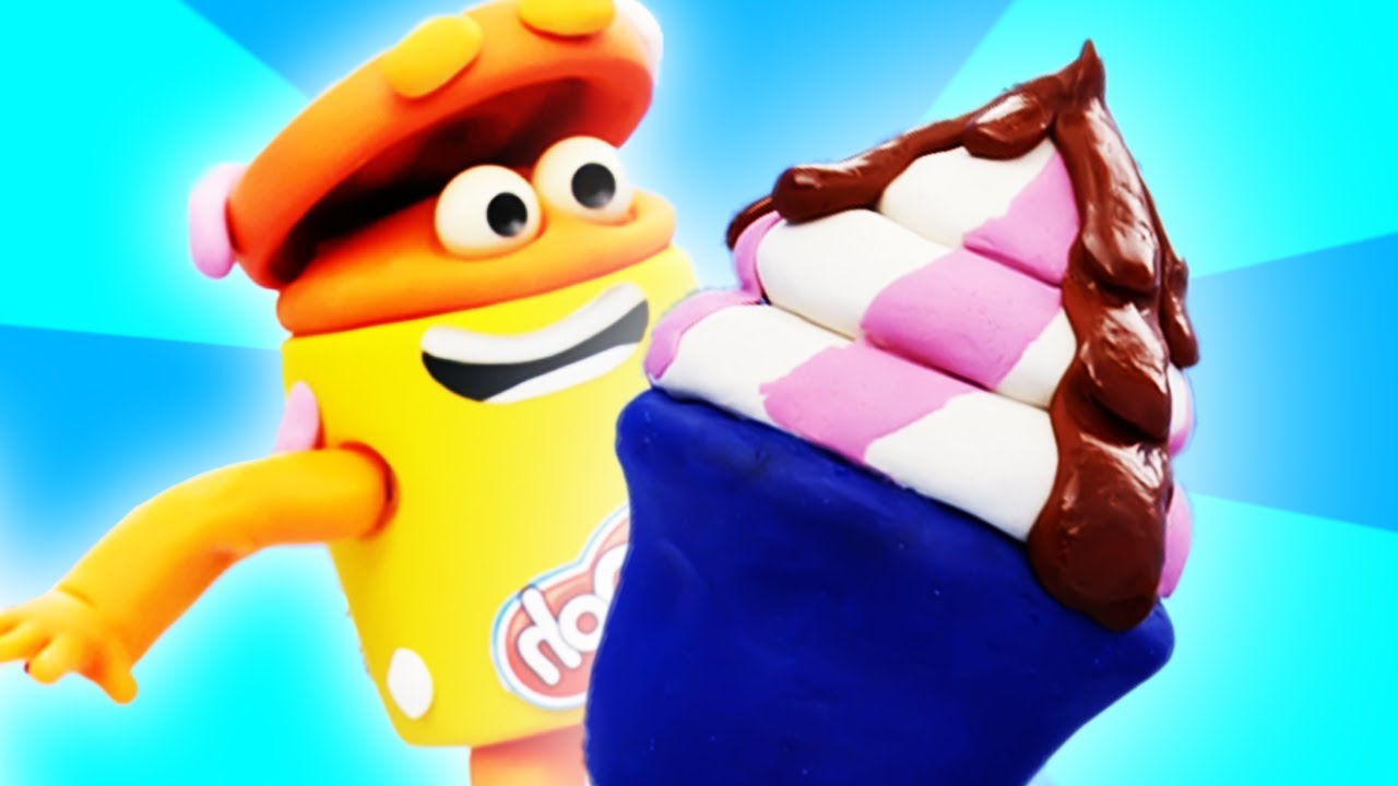 Play-Doh Official | Ice Cream Overload!!! | Play-Doh Show Stop Motion