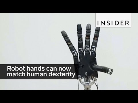 Robot hands can learn on their own