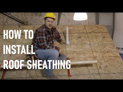Roof Framing Part 8: Roof Sheathing