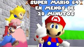 Super Mario 64 en menos de 20 minutos!