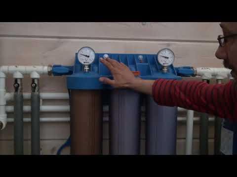 Система водоочистки для дома. Простая схема монтажа
