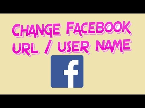 How to change profile name on facebook page