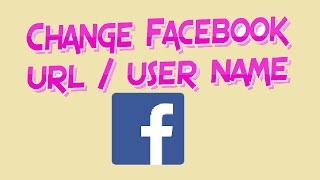 how to change facebook url name so easy   change fb username