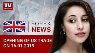 InstaForex tv news: 16.01.2019: What propels USD growth?