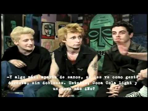 """Green Day: """"We're On Our 48th Hour Of No Sleep"""" (Outtake MTV 120 Minutes)"""