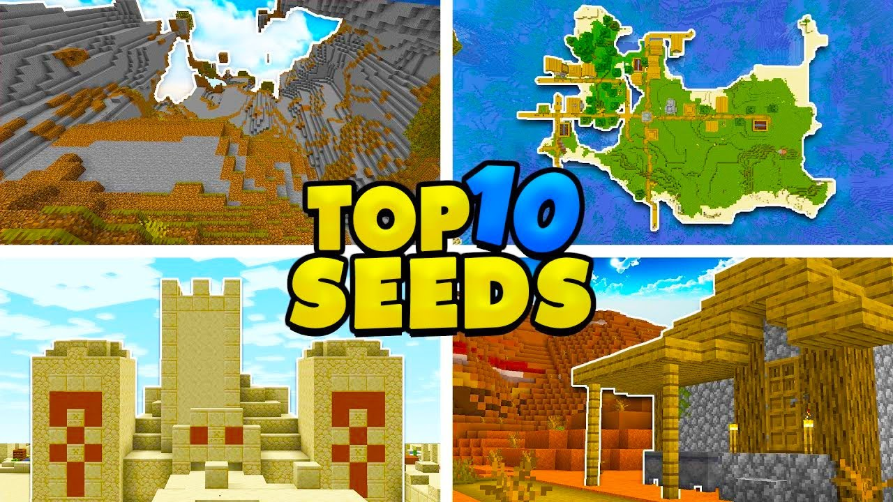 Top 1111 Seeds for Minecraft 11.111.11! (Minecraft Java Edition Seeds)