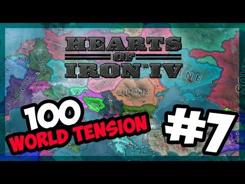AMERICAN CIVIL WAR!   Hearts of Iron IV - 100 World Tension - Modern Day - E.7