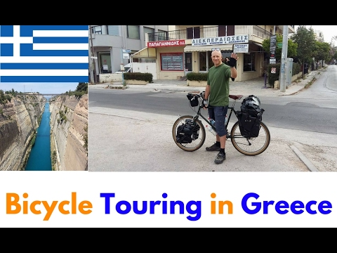 Bicycle Touring in Greece - Video from Cycling in Greece