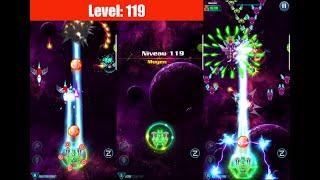 WALKTHROUGH Level 119 ALIEN SHOOTER [Campaign] GALAXY ATTACK: Best Arcade Shoot up Game Mobile screenshot 3