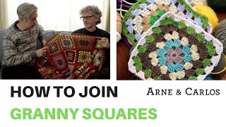 How to join Granny Squares - by ARNE & CARLOS