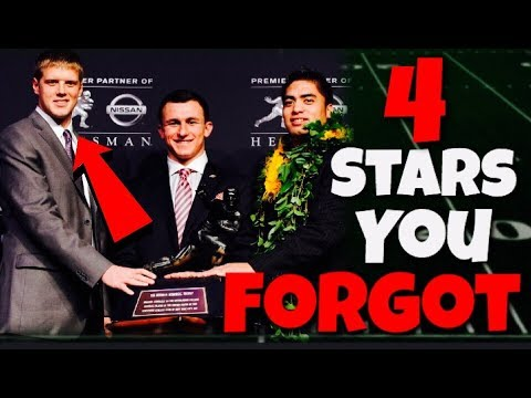 4 College Football Stars You COMPLETELY FORGOT About!