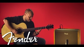 Andy McKee Demos the Acoustic Pro Amp