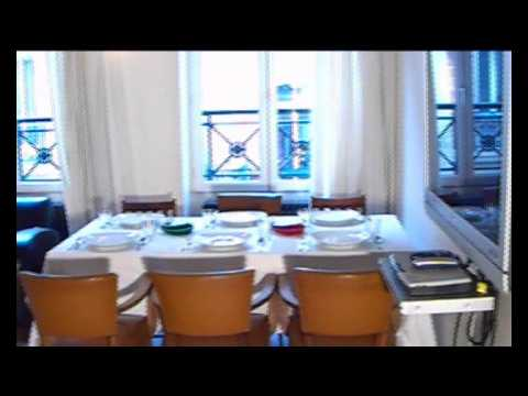 UsaParis.com LUXURY PARISIAN VACATION RENTAL APARTMENT FLAT VIDEO ref  BOURG_LABBE