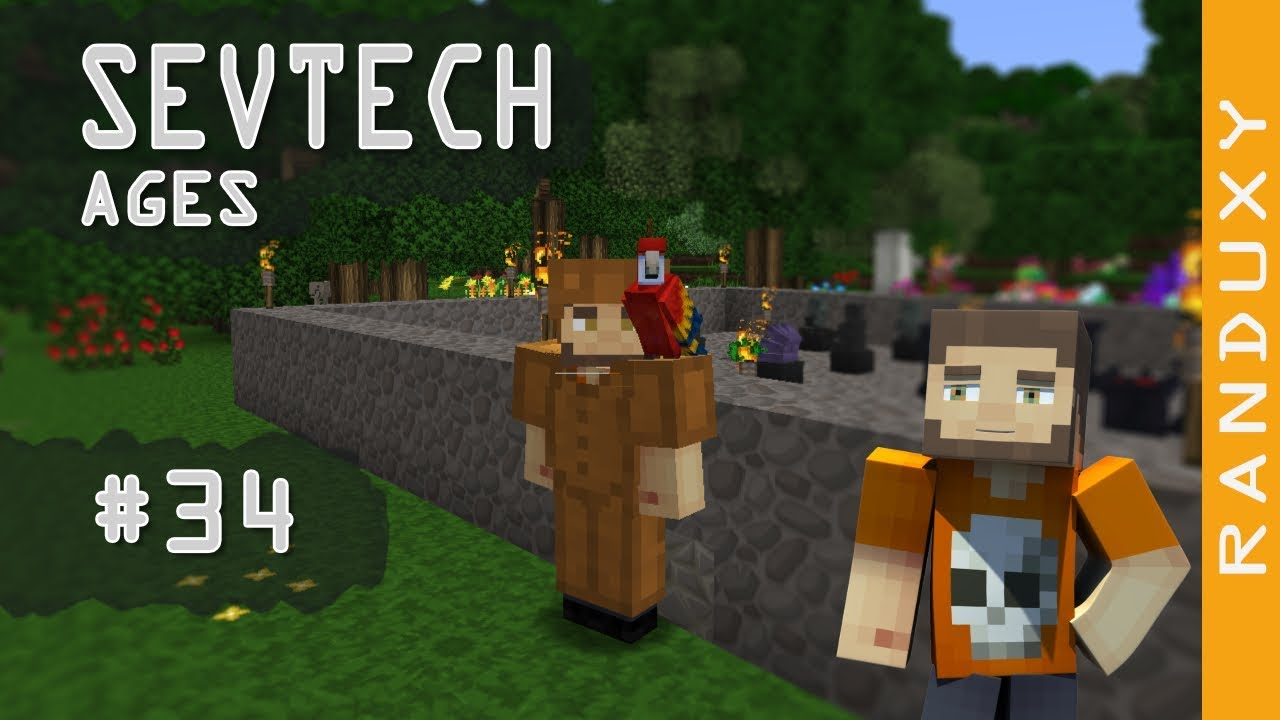 SevTech Ages: Minecraft - Ep 34 - Energy Pedestal, and a Parrot Summoning  Ritual