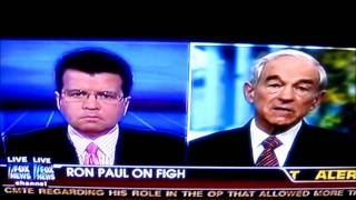 Ron Paul Media Blackout - Ron Paul Gets Cut Off By Fox News For Talking About Media Bias