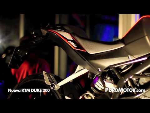 KTM Duke 200 lanzamiento COSTA RICA - PURO MOTOR