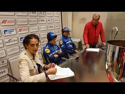 Remco Evenepoel - Post-Race Interview - Coppa Bernocchi 2021