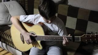 River flows in you из фильма Сумерки на гитаре
