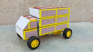 how To Make Matchbox Delivery Truck Electric Toy Truck Toy Diy