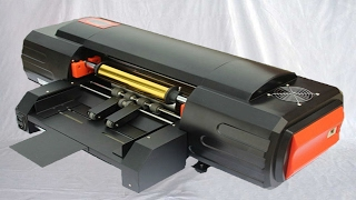 Digital hot stamping machinery foilcraft gold bronzing printer equipment 無版燙金機使用教程
