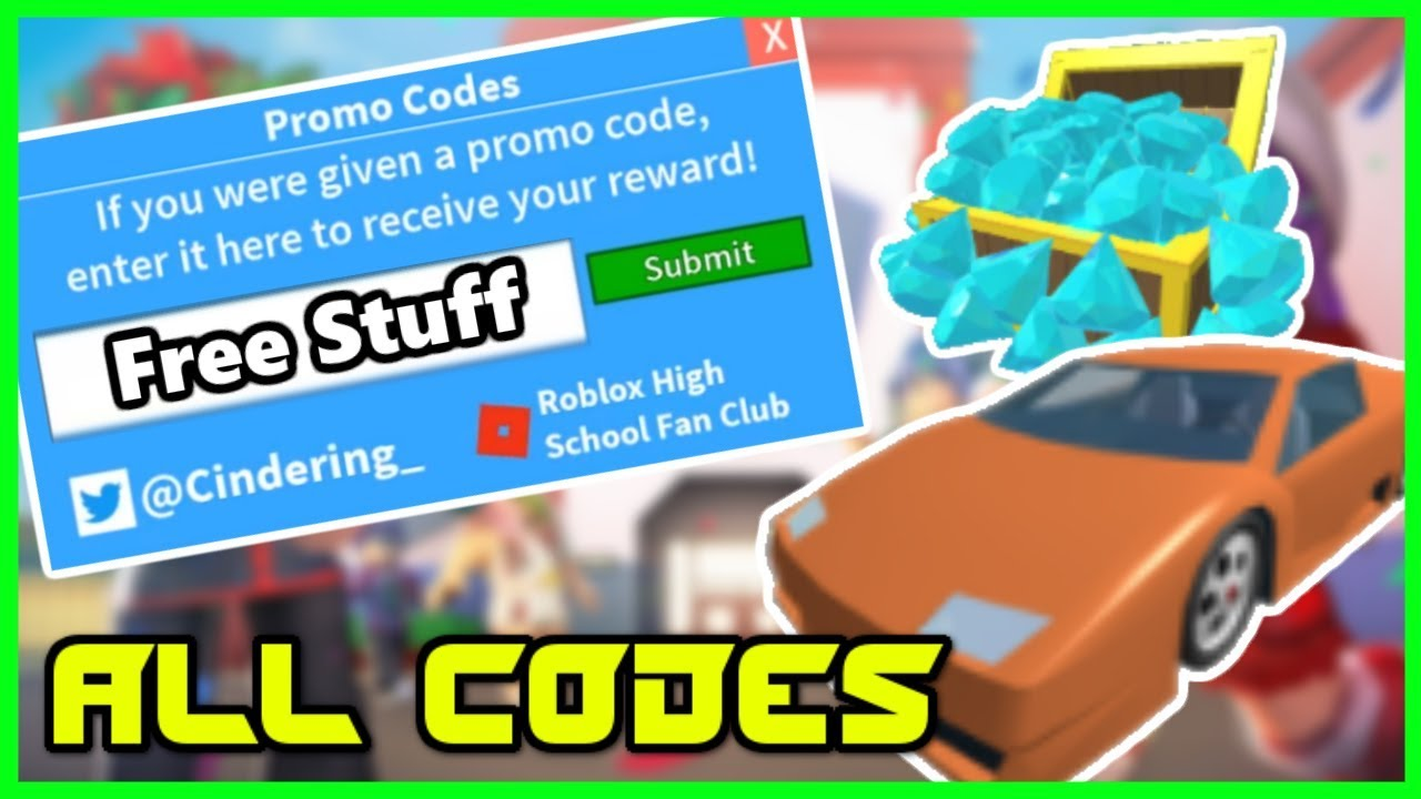 Roblox Highshcool 2 ALL Promo Codes 2018 - YouTube