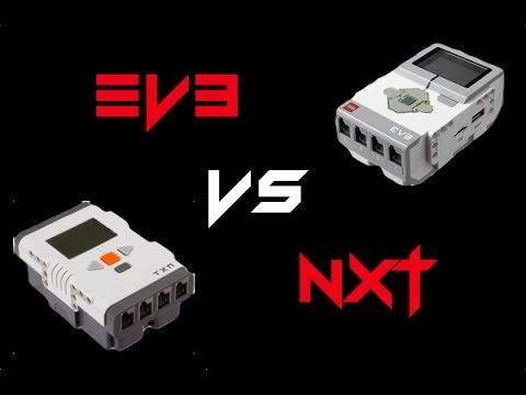 Lego Mindstorms EV3 vs NXT 2 0 Differences