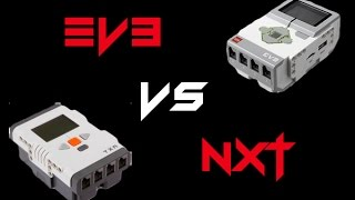 Lego Mindstorms EV3 vs NXT 2.0 Differences