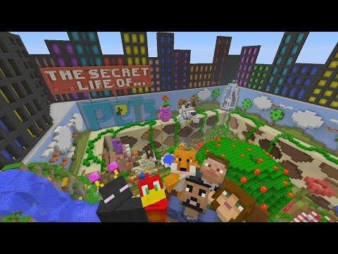 Minecraft Xbox - Hide and Seek - The Secret Life Of Pets
