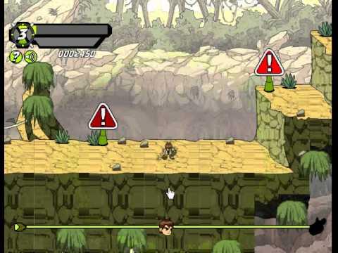 Game Ben 10 cậu bé anh hùng – đại chiến Ben 10 biến hình