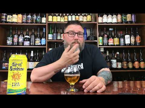 Massive Beer Reviews 1066 Lawson's Finest Liquids Sip of Sunshine Double IPA