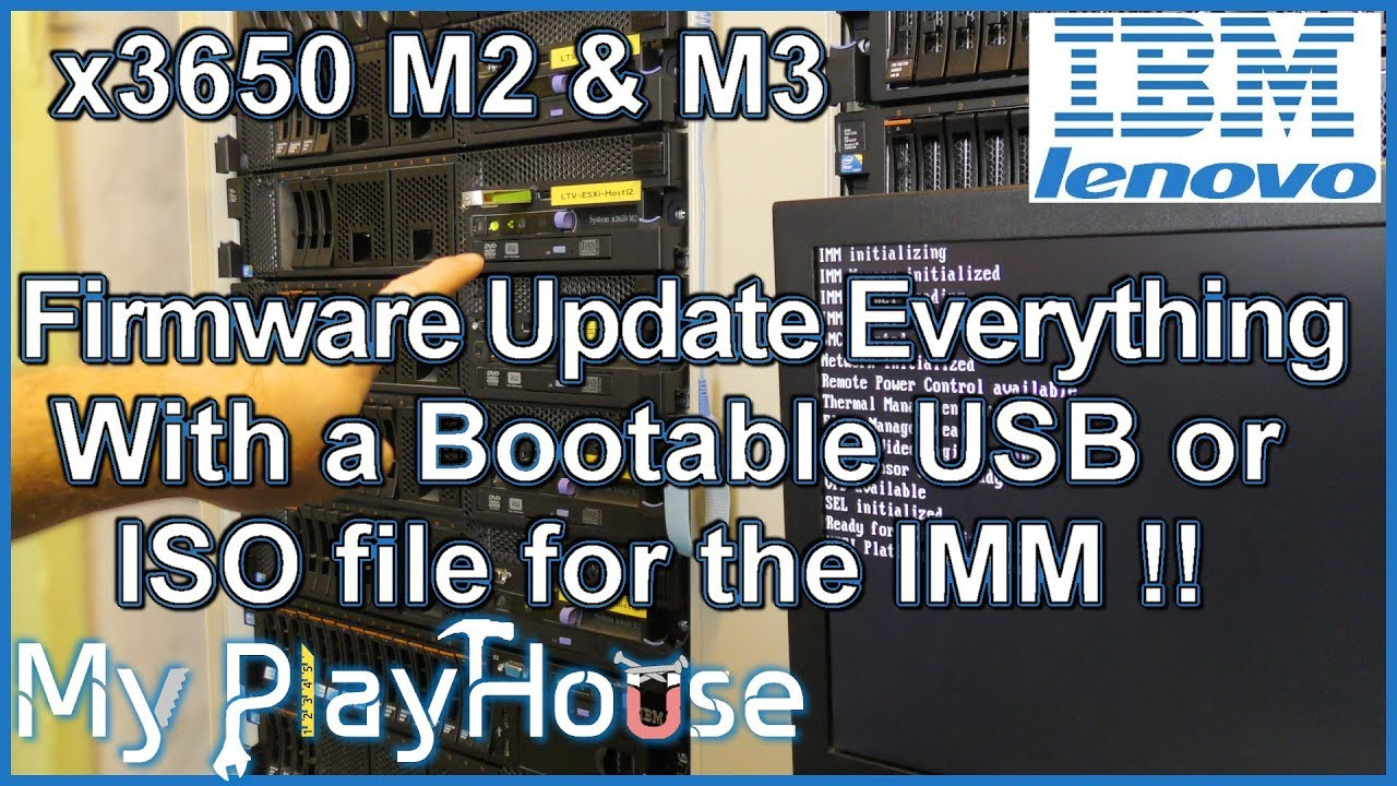 Bootable Firmware Update for Lenovo x3650 M2 & M3 - 728