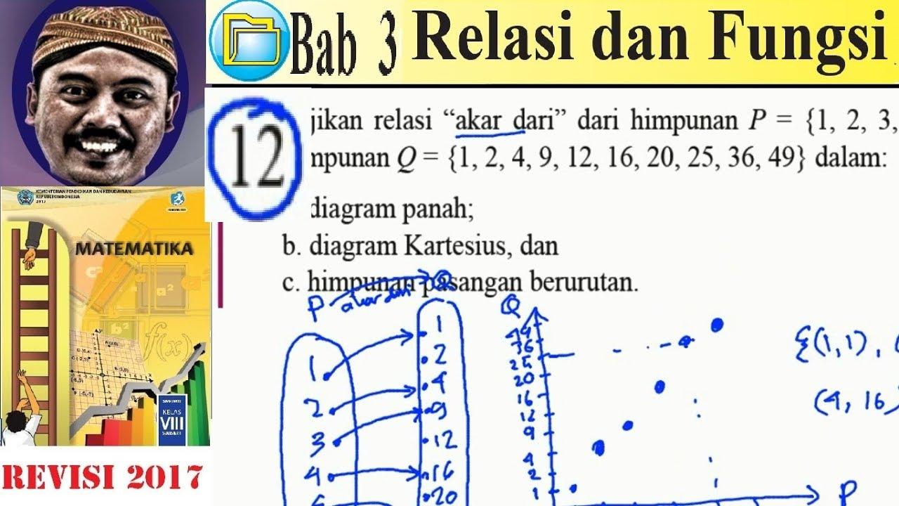 Relasi dan fungsi matematika kelas 8 bse k13 rev 2017 lat 31 no relasi dan fungsi matematika kelas 8 bse k13 rev 2017 lat 31 no 12 diagrampanah dan cartesi ccuart Images