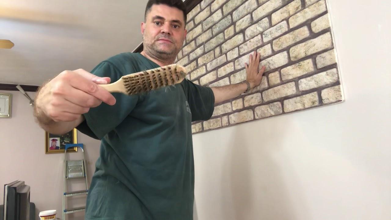 STRAFOR TAŞ DUVAR  Kaplama ? - Styrofoam stone wall covering
