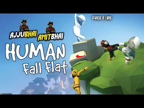 Human Fall Flat Live – Ajjubhai94 and Amitbhai Funny Gameplay