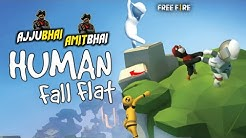 Human Fall Flat Live - Ajjubhai94 and Amitbhai Funny Gameplay