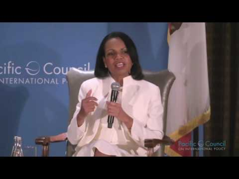 A Conversation with the Honorable Condoleezza Rice