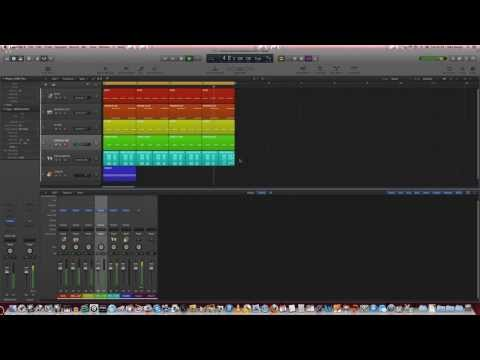 How to make a basic trance beat in Logic Pro X - Trance Production Tutorials #01