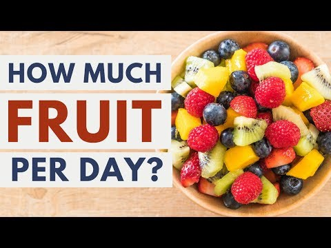 How Much Fruit Is Best to Eat Per Day?