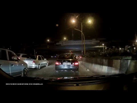 Asus Reco Classic Dashcam Video Sample Night Full HD 1080p HDR